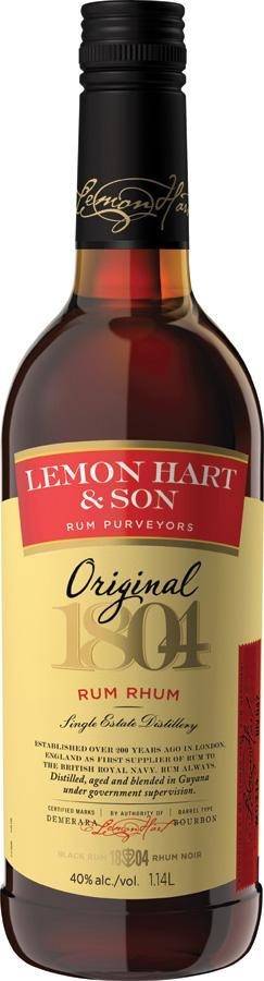 Lemon Hart Rum 1140 ml