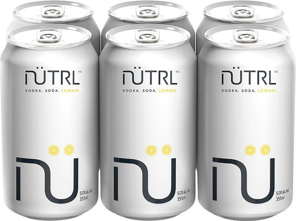 Nutrl Vodka Soda Lemon 6-Pack