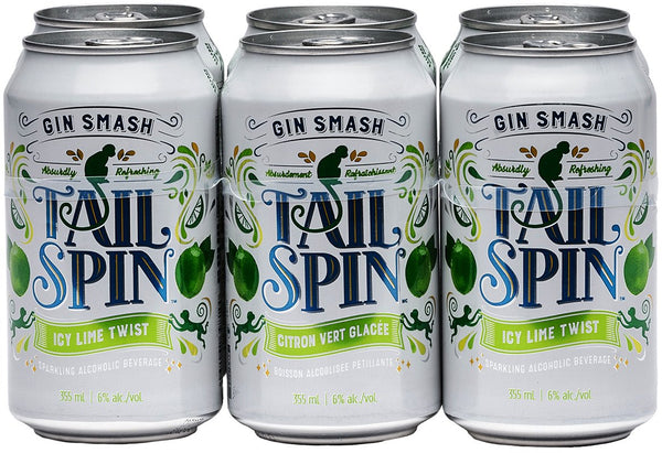 Tail Spin Gin Smash Lime 6-Pack