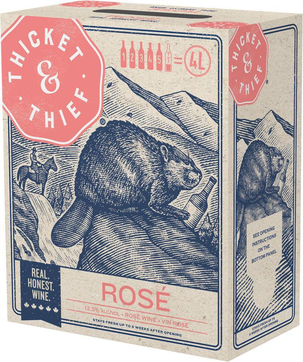 Thicket & Thief Rose 4000 ml
