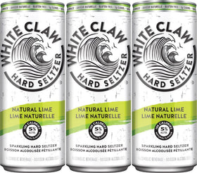 White Claw Natural Lime 6-Pack