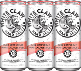 White Claw Ruby Grapefruit 6-Pack