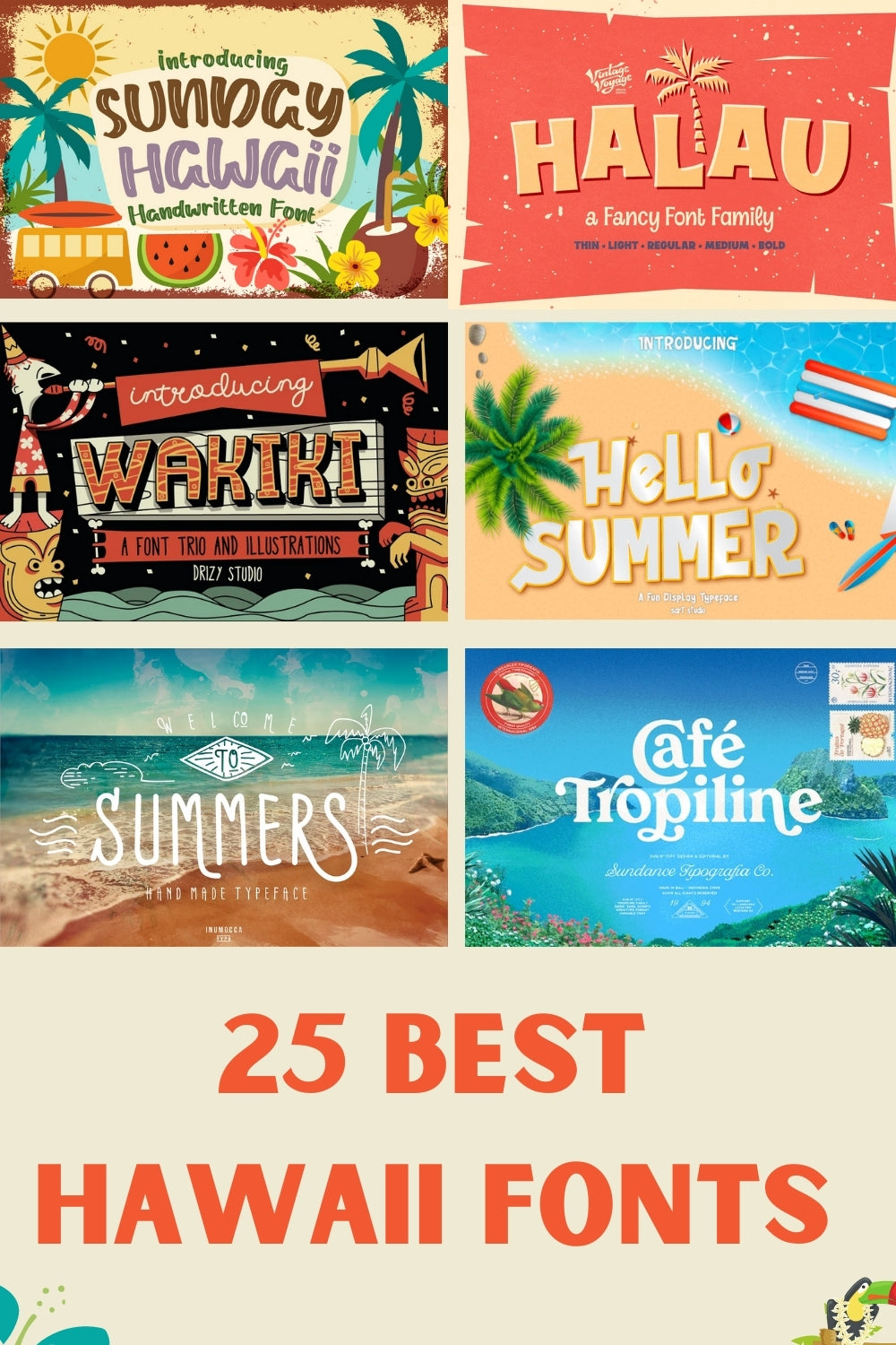 25 Best Hawaiian Fonts You Need To Get