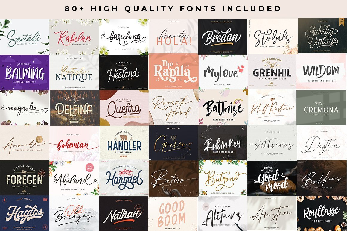All Font Collections