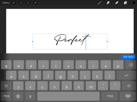 How to install fonts in Procreate
