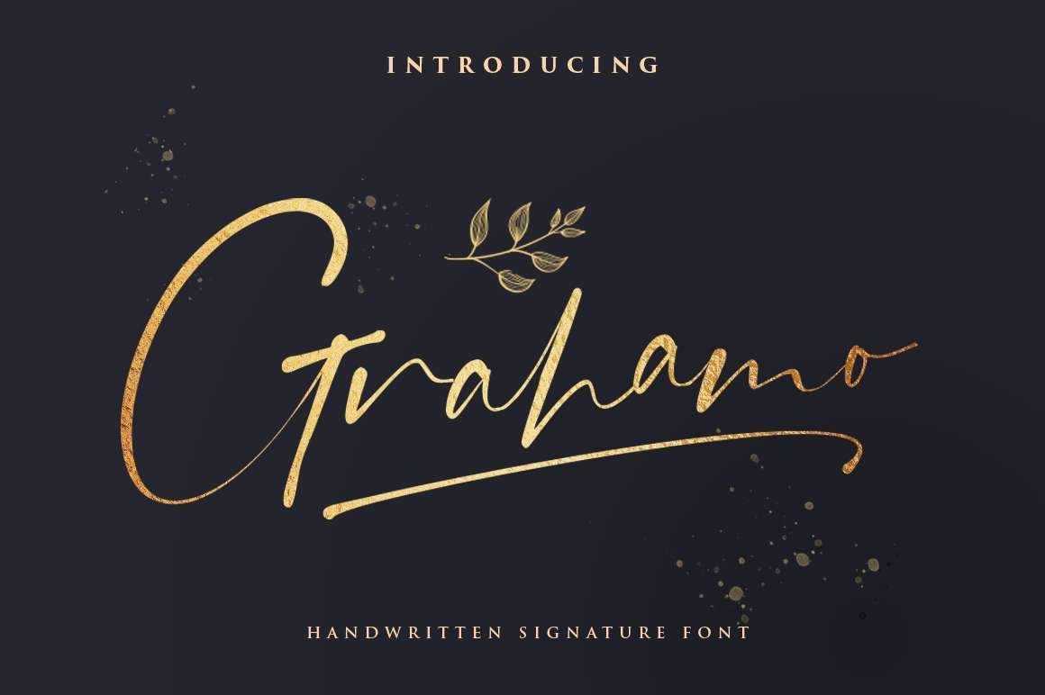 Grahamo - Luxury Script - Vultype Co