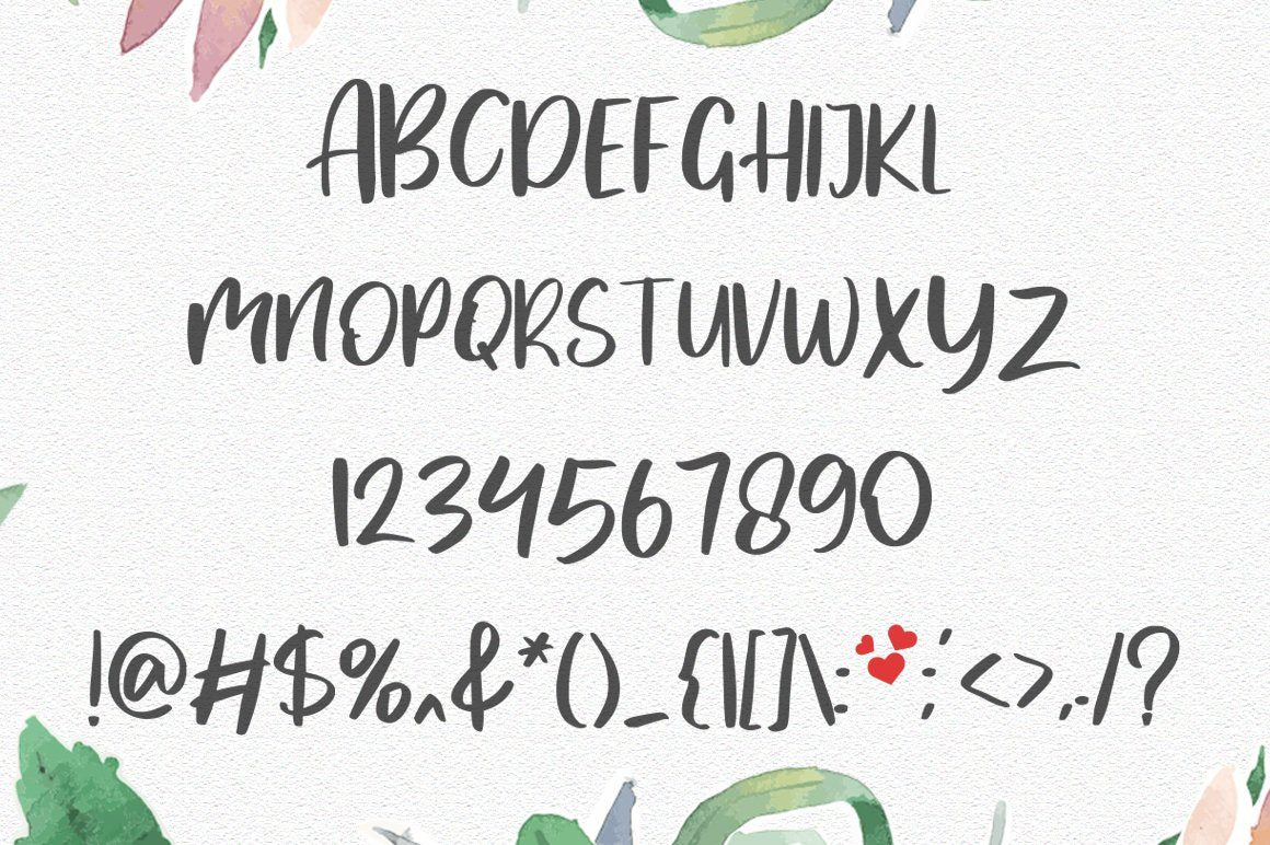MyLove Font - Vultype Co