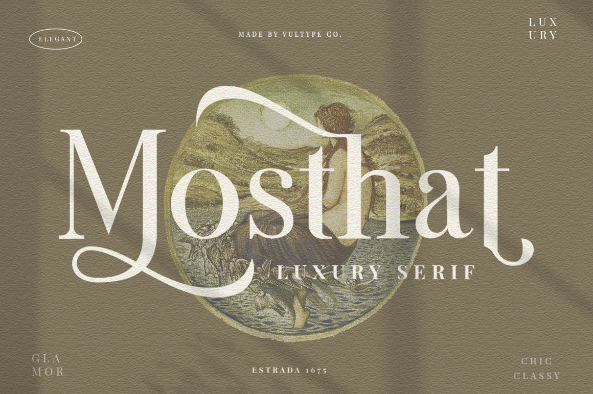 Mosthat - Luxury Serif
