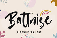 Battnise Brush Font - Vultype Co