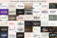 The Huge Font Collections Bundle - 99% OFF