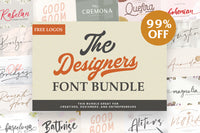 The Font Bundle For Graphic Designers - 99% OFF