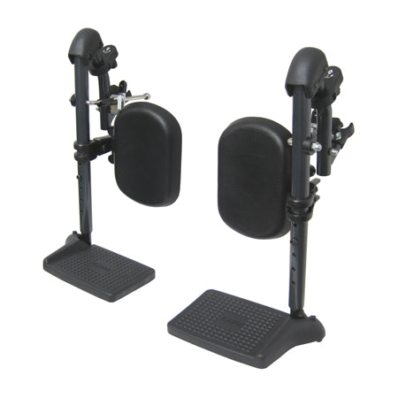 KARMAN - EL-S115-18 ELEVATING LEG REST - Black