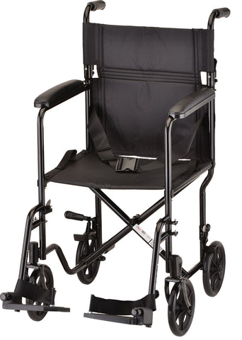 "TRANSPT CHAIR 19""STEEL BLUE"