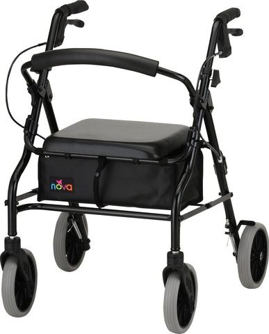 ZOOM 20 ROLLING WALKER BLACK