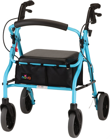 ZOOM 20 ROLLING WALKER SKYBLUE