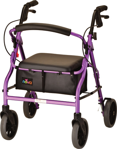 ZOOM 20 ROLLING WALKER PURPLE