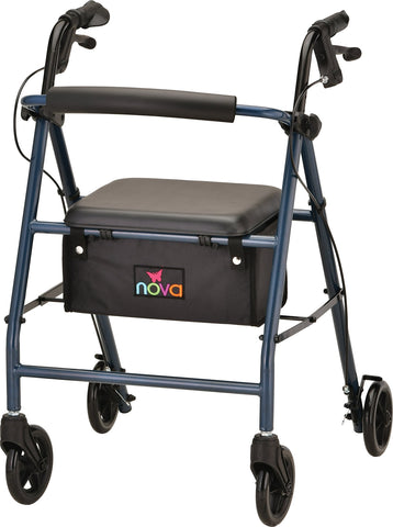 VIBE 6S ROLL WALKER STEEL BLUE