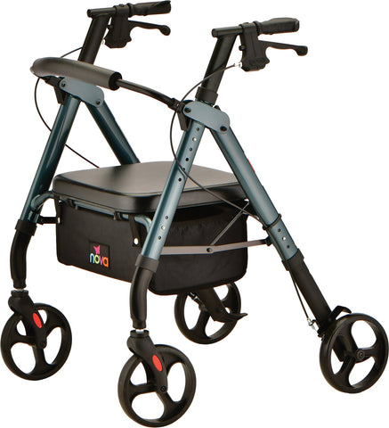STAR HD ROLLATOR BLUE