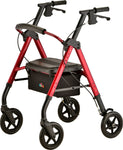 STAR 8 DX ROLLATOR RED