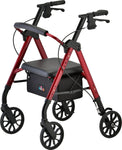 NEW STAR 8 ROLLATOR RED