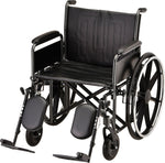 "WHEELCHAIR STL 22"" DFA ELVT LR"