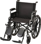 "WHEELCHAIR LTWT 20"" FA ELVT LR"