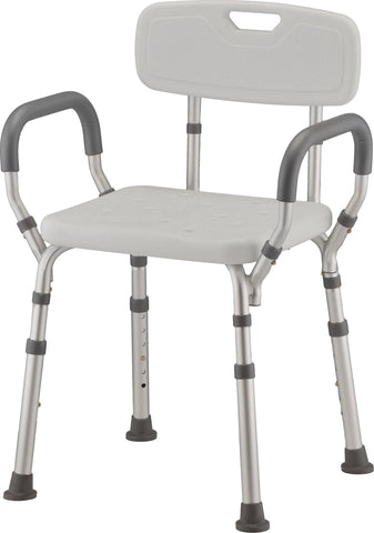 NOVA - 9036R SHOWER SEAT WITH ARMS & BACK