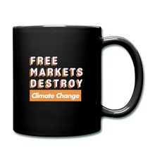 Load image into Gallery viewer, Free Markets Destroy: Climate Change - black