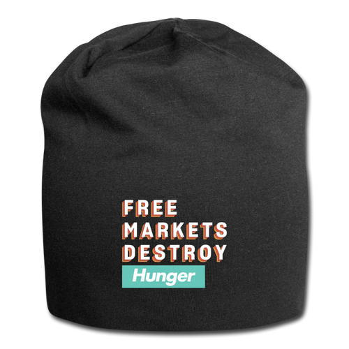 Free Markets Destroy: Hunger - black
