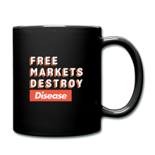 Load image into Gallery viewer, Free Markets Destroy: Disease - black