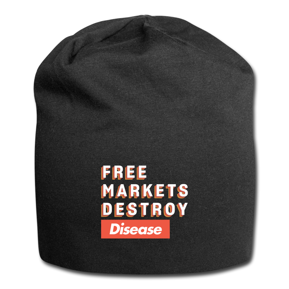 Free Markets Destroy: Disease - black