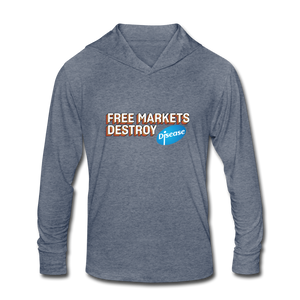 Free Markets Destroy: Disease - heather blue