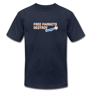Free Markets Destroy: Hunger - navy