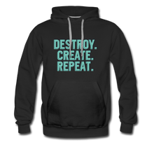 Load image into Gallery viewer, Destroy. Create. Repeat - black