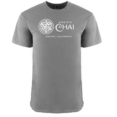 Angie's Chai Men's Grey T-Shirt