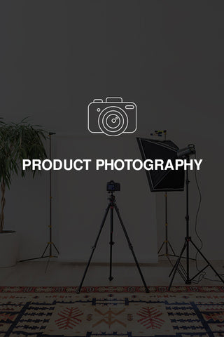 PRODUCT PHOTOGRAPHY & UPLOAD
