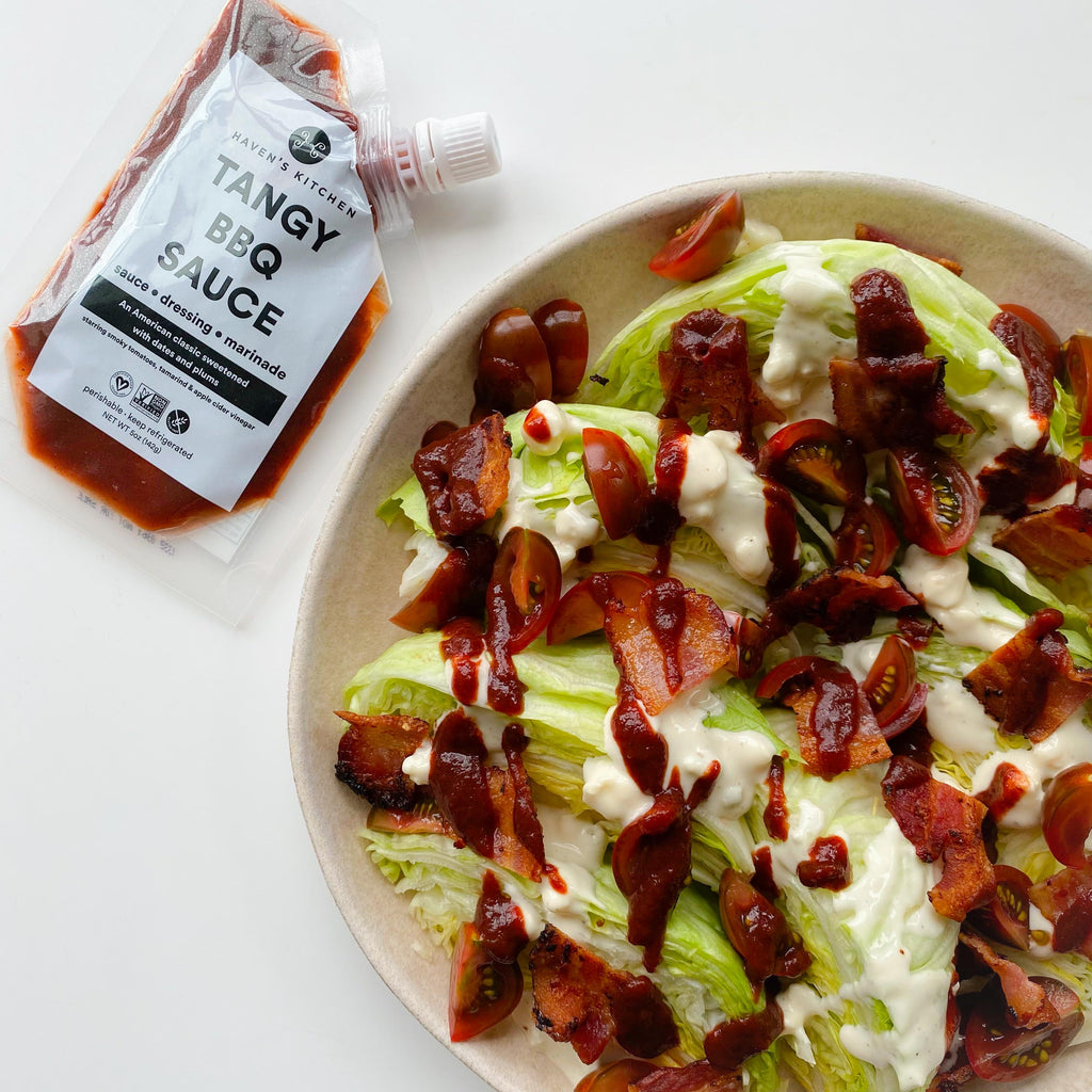 Tangy BBQ Wedge Salad