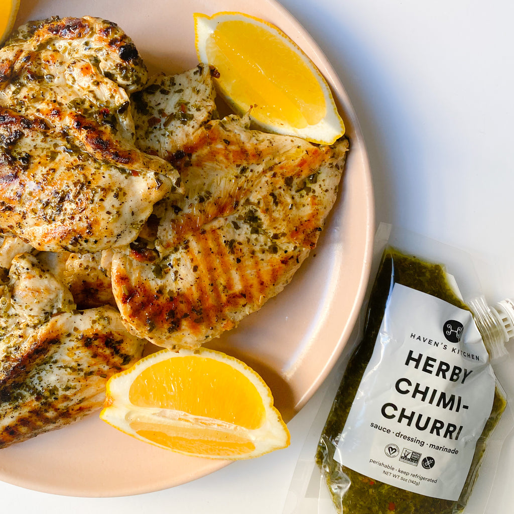 Chimichurri Grilled Chicken Breasts