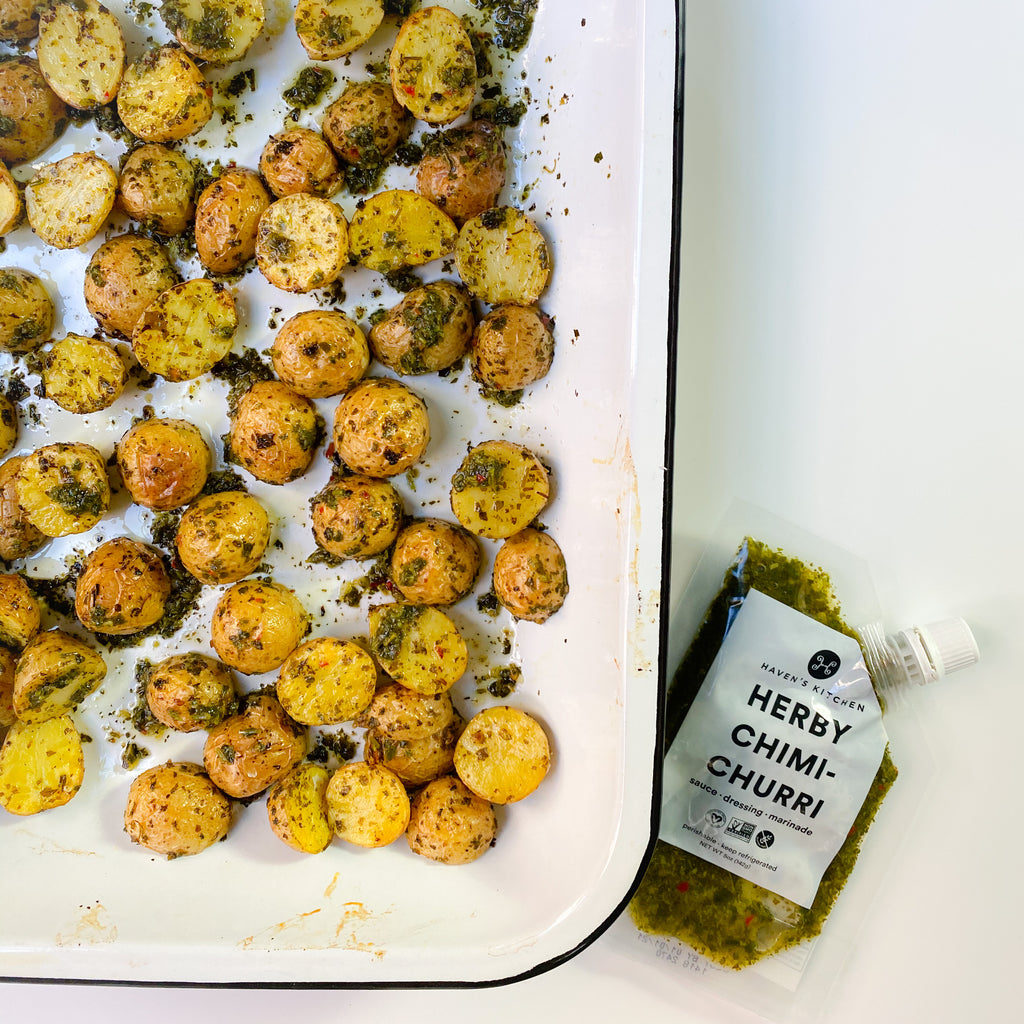 Chimichurri Roasted Potatoes