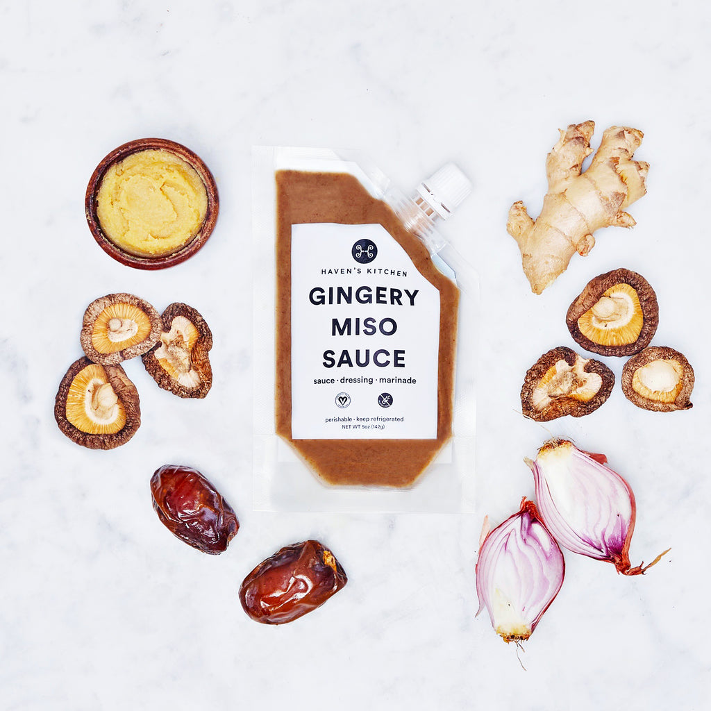 Gingery Miso