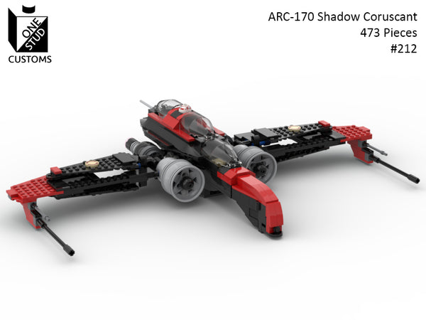 ARC-170 Shadow Coruscant Guard  - Order by 4-10 - Ships 5-2