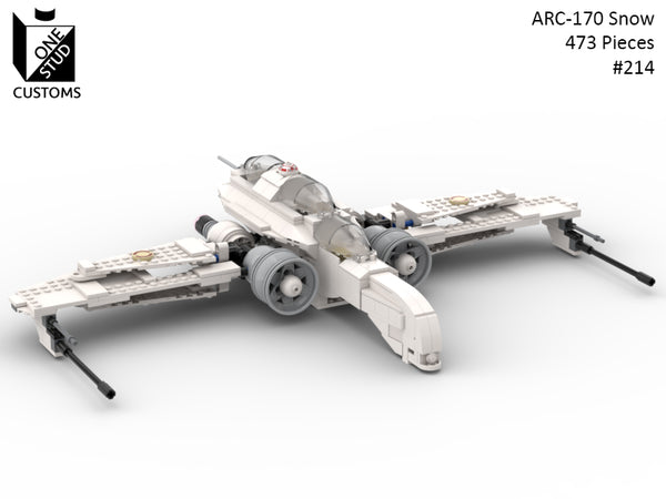 ARC-170 Snow - Order by 4-10 - Ships 5-2