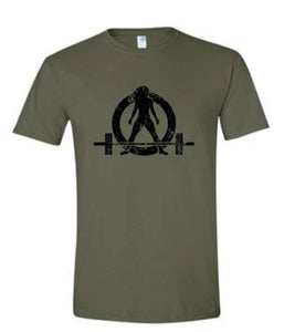 WWLW Army Green T-Shirt - Strong Is Beautiful