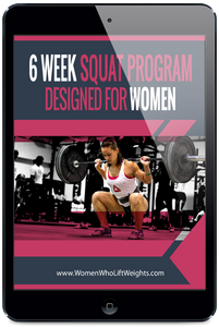6 Week Squat Program For Women
