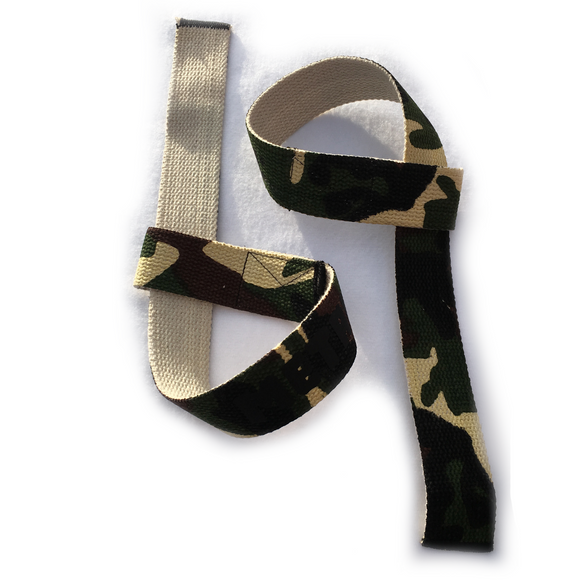 Lifting Staps - Camouflage (with wrist padding)