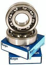 Suzuki RM 125 Crankshaft main bearings. 1988-2008. Koyo