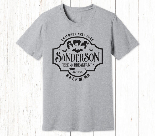 Sanderson Bed & Breakfast Hocus Pocus Shirt