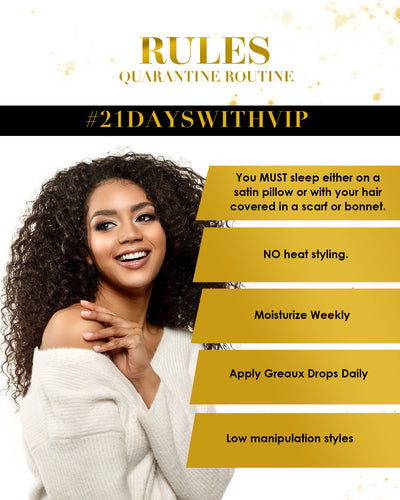 21 Day Natural Hair Care Challenge