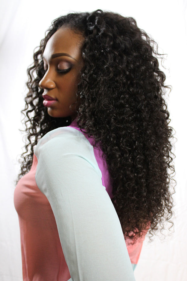 Brazilian Beach Curl - Single Wefts - VIP Luxury Hair - 2