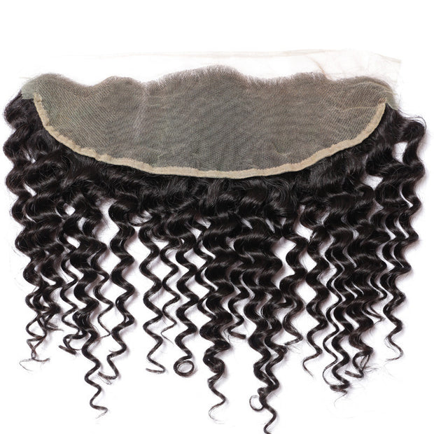 Peruvian Loose Curl - Swiss Lace Frontal